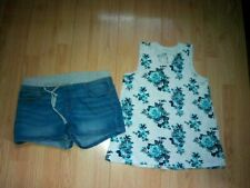 Justice 2 Piece Girls Outfit Size 12 & 14 Plus