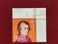 Alemania Federal año 2006 Wolfgang Amadeus Mozart Nº 2339 MNH