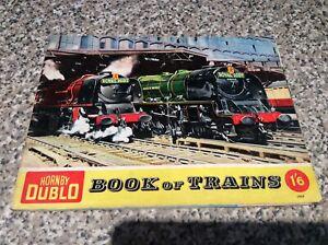 Hornby Dublo Book of Trains Magazine