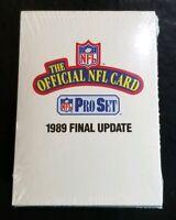1989 Pro Set Final Update Sealed - Official NFL 21 Card Set Herschel Walker