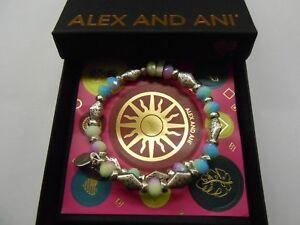 Alex and Ani Islander Wrap Bangle Bracelet, Rafaelian Silver NWTBC