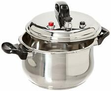 Uniware Pressure Cooker With 6 Safety Features,5.3/7.4/9.5 Quarts, Silver