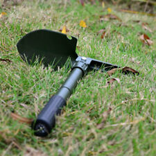 02C1 Foldable Camping Shovel Outdoor Survival Army Green Folding Shovel