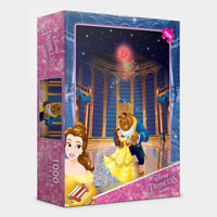 """Jigsaw Puzzles 1000 Pieces """"Beauty and The Beast"""" / Disney Princess / D1009"""