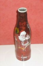 "1 COCA COLA BOUTEILLE COKE BOTTLE  ALU "" CHRISTMAS 2006 "" BELGIQUE"