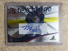 11-12 Panini Pinnacle Rink Collection NUFEX DUFEX Auto RC MARK SCHEIFELE #287