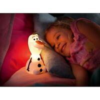 Disney Eiskönigin Olaf SoftPal Tragbar LED Nachtlicht NEU Lampe