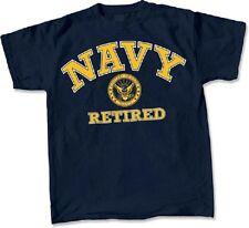 US Navy Retired T-Shirt Veteran Submarine Surface Warfare Naval Aviation CB Med