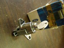 NOS OEM Ford 1967 Galaxie Glove Box Lock + Key 500 XL LTD
