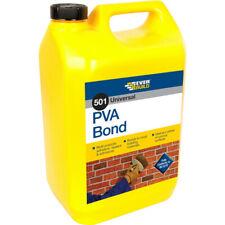 Everbuild EVBPVA5L Universal PVA Bond 501 5 Litre