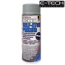 E-Tech Technik Self Etch Primer 400ml Can for Bare Metals Alloy Wheels Glass Ste
