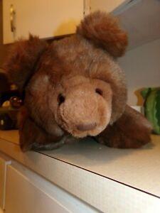 "Vintage GUND Cubbins 1987 COLLECTORS CLASSIC Grizzly Brown Bear Plush 16"". EUC."