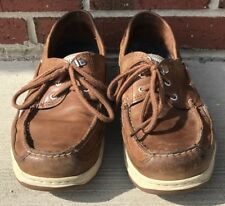 SEBAGO Broown Leather Boat Shoes Men's Size 11 W (824367)