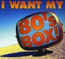 Various Artists - I Want My 80's Box / Various [New CD] Boxed Set, Digipack Pack