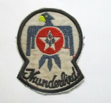 Patch-  U.S.AIRFORCE THUNDERBIRDS PATCH USAF