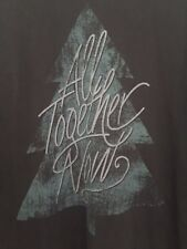 "LIFE IS GOOD WOMENS T- SHIRT Sz XL Cotton BLACK Long Sleeve ""All together Now"""