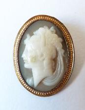 Petit camée 19e siècle victorian pour bague médaillon