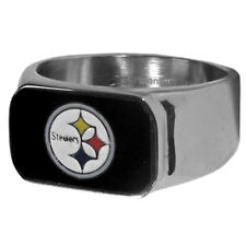 PITTSBURGH STEELERS NFL STAINLESS STEEL RING ( sizes 10-11-12-13 )