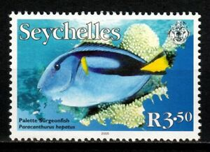 Seychelles stamps 2005 R3-50 MNH Fish