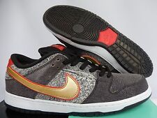 NIKE DUNK LOW PREMIUM SB QS BEIJING BLACK-METALLIC GOLD SZ 11.5 [504750-077]