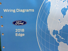 2018 Ford EDGE Wiring Electrical Diagram Manual OEM Factory