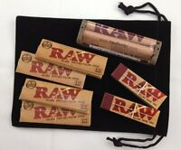 1 x Pack RAW Natural 1 1/4 + 79MM Roller Machine + RAW Filter Tip COMBO DEAL