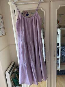 hm lilac dress