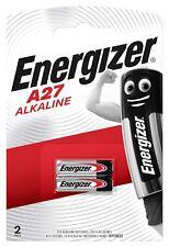 2 x Energizer A27 V27A L828 MN27 GP27A - 1 x 2er Blister - 22mAh Batterie 12V