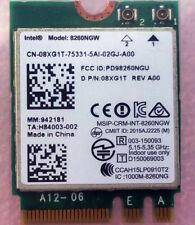 8XG1T Dell Intel Wireless 8260 WLAN WiFi Card