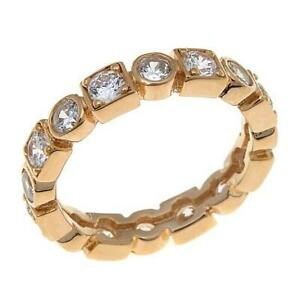 HSN Absolute 1.6ctw Cubic Zirconia Round Stone Multi-Shaped Band Ring 8