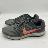 Nike Downshifter 7 Womens Size 9.5 Gray Pink Running Shoes Walking Sneakers