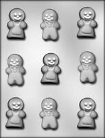 Gingerbread People Chocolate Mould / Christmas Mould
