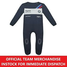 TYCO BMW Motorrad Superbike BSB TT Official Babygrow Baby Play Suit -NEW S1000RR
