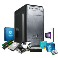 Pc desktop Intel Quad Core 2.42 Ghz con licenza Windows 10 oppure Windows 7 pro