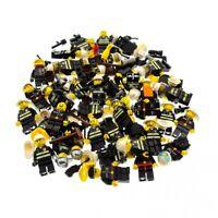 5 x Lego System City Mini Figuren Feuerwehr Mann Town fire Figur Feuerwehrmann s