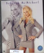 Wrestling 8 X 10 Color Photo~Deborah~