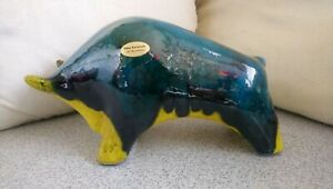 Otto Stier - Bulle - Fat Lava Keramik Keramikfigur  ( B )