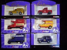 6 x Corgi Die-cast Models –Cadbury Collectables – All boxed