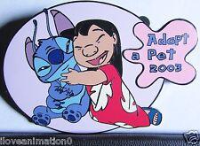 Disney Auctions  Adopt a Pet Lilo & Stitch LE 100 Pin