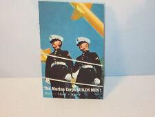 Navy Marine Corp Recruiting Mail Post Card