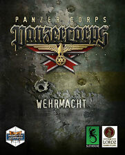 Panzer Corps Wehrmacht PC DVD New & Sealed With Colour Printed Manual & Code