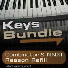 40 PIANOS + 64 RHODES & ELECTRIC PIANOS + 64 HAMMONDS REASON REFILL BUNDLE