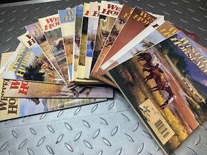 Vintage Western Horseman Magazines Bulk Lot Of 16 USA 1992-1993 Equestrian