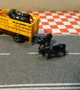 Matchbox Superfast Dodge Cattle Truck  No71 Pair of Reproduction cows $8.00