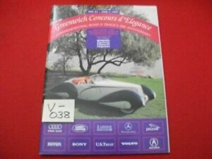 ROAD & TRACK PRESENTS 2nd GREENWICH CONCOURS d'ELEGANCE 5/31-6/1, 1997 PROGRAM