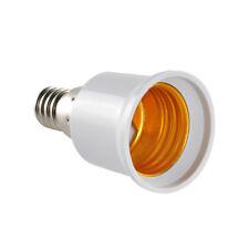 2Pcs E14 to E27 LED Lamp Light Bulb Base Screw Socket Converter Adapter gadget