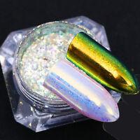 BORN PRETTY Matte Mirror Nail Glitter Powder Chrome Chameleon Sequins