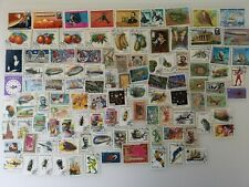 500 Different Malagasy & Madagascar Stamp Collection