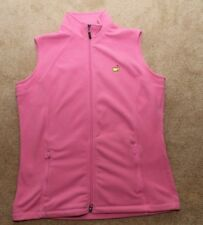 The Masters Collection Polar Fleece Golf Vest - Women's Medium - Augusta Logo