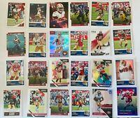 San Francisco 49ers (24) Card Lot Jimmy Garoppolo Kittle Sherman Prizm Score